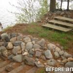 Old Stone Retaining