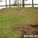 Grade Around Home Caused Drainage Problems