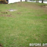 Sloping Around Home Created Poor Drainage