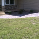 Coordinating Paver Path from Front Door to Driveway